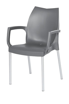 TULIP All-Weather Stacking Armchair Heidi Collection $91 - Tamirson