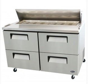 Sandwich Prep Table Drawer Mega Top Atosa 60 inch $1695 - Tamirson