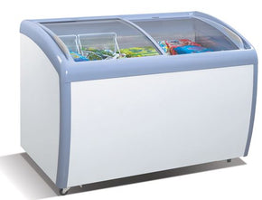 Chest Freezer 2 glass slide doors ICE CREAM $616 - Tamirson