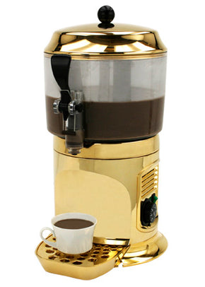 Chocolate Shot Drinking Chocolate Machine Hot Dispenser Gold - Tamirson