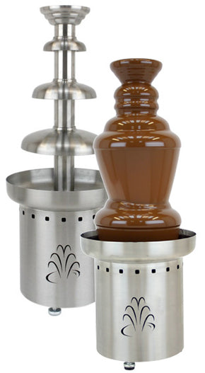 Chocolate Fountain Commercial Stainless Steel 3 Tier 27 inch - Tamirson