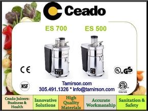 Ceado Juicer Vegetable Fruit Extractor Machine ES700 $2395 - Tamirson