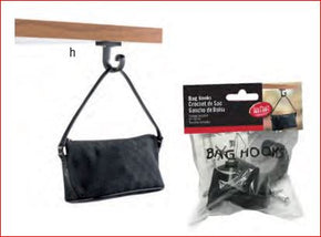 Table Clip Bag Hand Bag Hook Purse Holder Hump Hook Under Table Purse Bag Clip 48 Each $24.00 - Tamirson