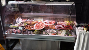 Fish Display Case Deli Refrigerated IDCVML12 - Tamirson