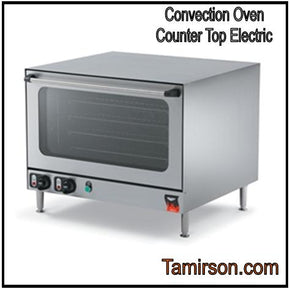 Convection Oven Counter Top holds 4 full sheet pans - Tamirson
