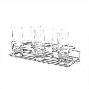 Dessert Rack Server Stainless Steel Shooter 10-Compartment $15 - Tamirson