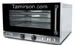 Convection Oven Electric Counter Top CSB-3L 3 full Size Sheet Pans $1595 Stack-able - Tamirson