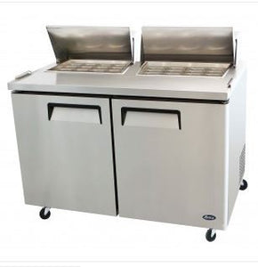 Mega Top Refrigerated Sandwich Prep Table 2 doors 60 inch $1555 - Tamirson