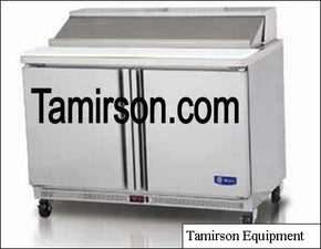 2 Two Doors Sandwich Prep Table 48 Inch 12 pans - Tamirson