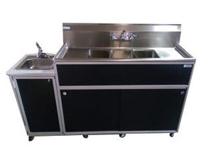 Portable Sink 4 compartment special 55 inch $3345 - Tamirson
