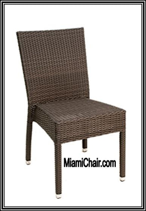 OUT DOOR Outdoor CHAIR Delray Side Chair Stackable golan - Tamirson