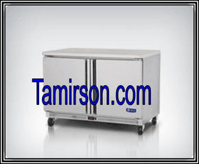 2 Two Door Undercounter Freezer 48 inches - Tamirson