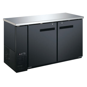 Back Bar Cooler 2 Solid Door 60 inch coldline $1495 - Tamirson