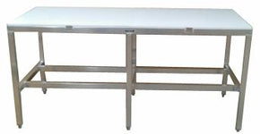 Work Table Sea Food Butcher with poly top 30x72 $695 - Tamirson
