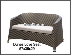 Love Seat Out Door Outdoor Sofa - Tamirson