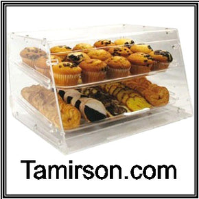 Bakery Pastry Display case Counter Top None Refrigerated 2 trays - Tamirson