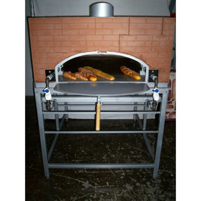 Pita Pizza Oven Brick Style UL approved Flame On Side - Tamirson