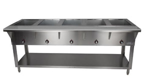 Steam Table Electric 5 bay Hot Serving Counter ST5005E-5 $1595 - Tamirson