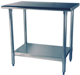 Work Table Stainless Steal 24x36 Cold Tech EWT-2436 - Tamirson