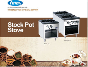 Stock Pot Candy Stove Gas atsp18-1 atsp-18-2 $275 - Tamirson