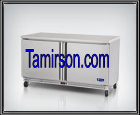 2 Two Door Undercounter Freezer 60 inches - Tamirson