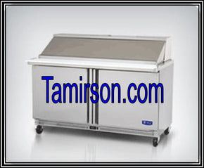 2 Two Door Mega Big Top Sandwich Prep Table 60 Inch 24 p - Tamirson