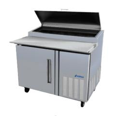 Pizza Prep Table 46 inch ASBER APTP-46 - Tamirson