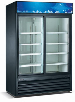 Adcraft RFS2DB 2 Glass Door Refrigerator Merchandiser $1795 - Tamirson