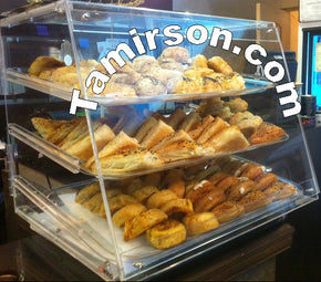 Bakery Pastry Display case Counter Top None Refrigerated 3 tray - Tamirson