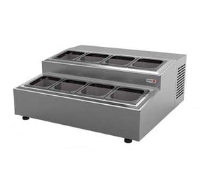 Refrigerated Countertop Pan Rail CPR-8 $1625 - Tamirson