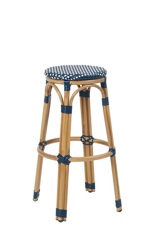 Bar Stool 47-BS ERP Aluminum/Poly Woven Armless Barstool, Backless $58 - Tamirson