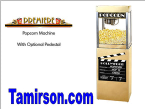 POPCORN POPPER MACHINE and Base Cinema Style 4 and 6 oz - Tamirson