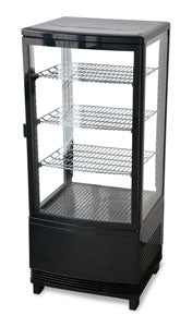 Display Case Refrigerated Dessert Showcase  39 inch high 2 doors - Tamirson