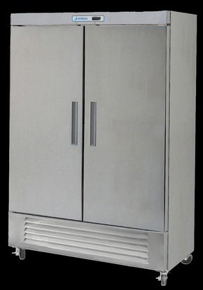 Reach In 2 door refrigerator cooler 49 cu ft - Tamirson
