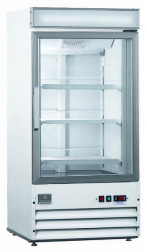 Freezer Merchandiser 2 glass door 27 CU FT - Tamirson
