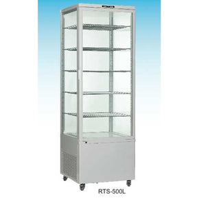 Dessert Display Case Refrigerated Showcase Cooler 77 high - Tamirson