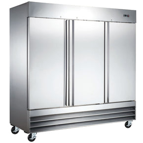 Reach-In Freezer three 3 doors CFD-3FF-HC 81″ Coldline $2575 - Tamirson