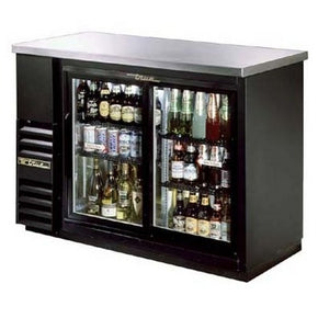 "24"" Back Bar Coolers (slide glass door) [ TBB-24-48G-SD ] - Tamirson"