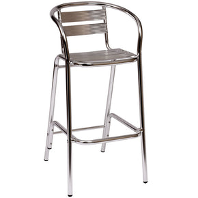 Bar Stool Bar Height Aluminum Arm Chair $79 - Tamirson