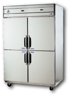 Four half door dual temp REF (3dr) / FRE (1dr), 40 cu.ft. - Tamirson