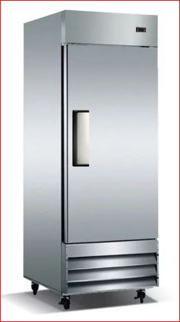 "Reach-In Refrigerator Cooler CFD-1RE-HC 29"" coldline Single Solid Door Reach-In $1095 - Tamirson"
