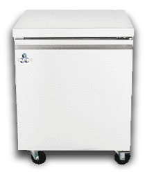 "One Door Undercounter Freezer, 27"" wide - Tamirson"