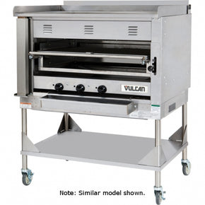 "Chophouse Broiler 36"" wide Heavy Duty Vulcan VST3B Chophouse Broiler with Griddle Plate - 100,000 BTU $8995 - Tamirson"