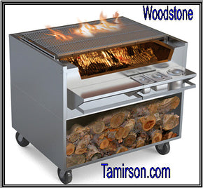 CHARBROILER SHALLOW‐BOX Wood Stone WS‐SFB‐34 $7995 - Tamirson