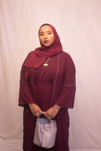 Load image into Gallery viewer, Malakiyah | Maroon Set