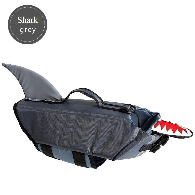 Life Dog Jacket Shark and Duck Design Pet Swimming Vest