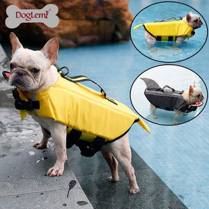 Open image in slideshow, Life Dog Jacket Shark and Duck Design Pet Swimming Vest