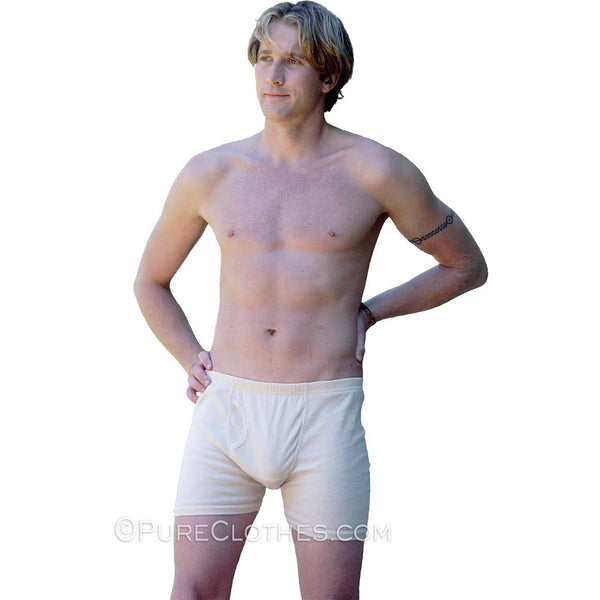 Organic Pima Cotton Fitted Boxer Briefs