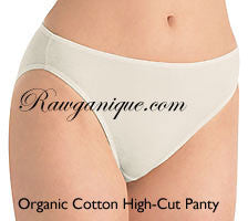 Organic Cotton High-Cut Panty
