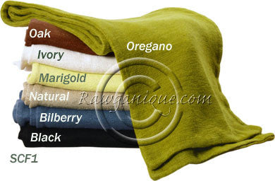 Organic Hemp Knit Scarves